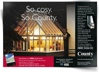 County ad 1